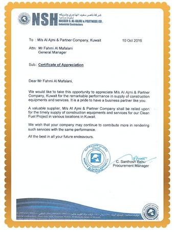 Al-Ajmi & Partner General Trading and Contracting Company